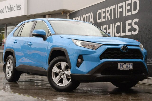Used Toyota RAV4 Mxaa52R GX 2WD, 2019 Toyota RAV4 Mxaa52R GX 2WD Eclectic Blue 10 Speed Constant Variable Wagon