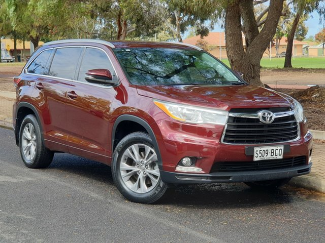 Used Toyota Kluger GSU50R GXL 2WD, 2014 Toyota Kluger GSU50R GXL 2WD Red 6 Speed Sports Automatic Wagon