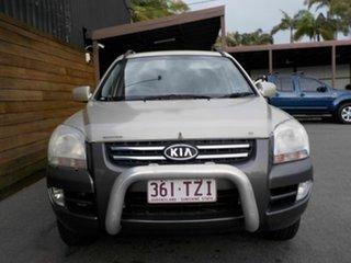 2008 Kia Sportage KM2 LX Gold 5 Speed Manual Wagon
