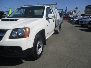 2011 Holden Colorado RC MY11 LX 4x2 White 5 Speed Manual Cab Chassis