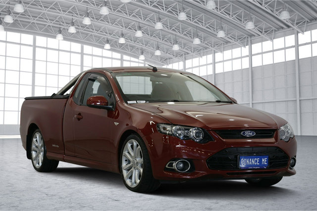 Used Ford Falcon FG MkII XR6 Ute Super Cab Turbo, 2014 Ford Falcon FG MkII XR6 Ute Super Cab Turbo Red 6 Speed Sports Automatic Utility