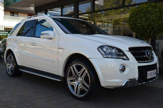 Used Mercedes-Benz M-Class W164 MY10 ML63 AMG, 2011 Mercedes-Benz M-Class W164 MY10 ML63 AMG 7 Speed Sports Automatic Wagon