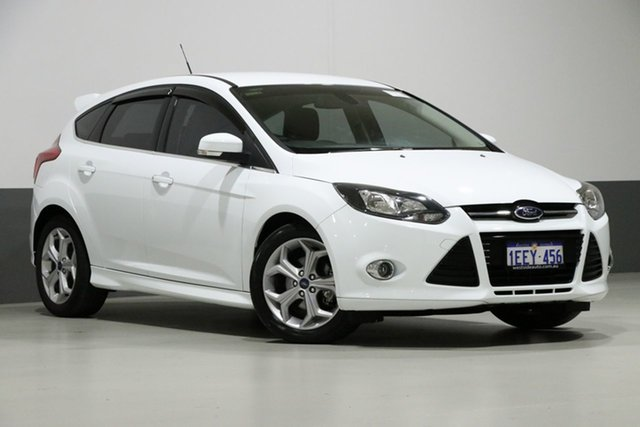 Used Ford Focus LW MK2 Sport, 2013 Ford Focus LW MK2 Sport White 6 Speed Automatic Hatchback