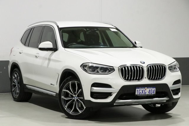 Used BMW X3 G01 MY18.5 xDrive 30I, 2018 BMW X3 G01 MY18.5 xDrive 30I White 8 Speed Automatic Wagon