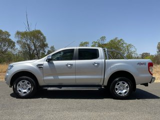2017 Ford Ranger PX MkII 2018.00MY XLT Double Cab Silver 6 Speed Sports Automatic Utility