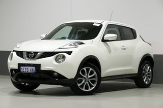 2015 Nissan Juke F15 Series 2 ST (FWD) White 6 Speed Manual Wagon.