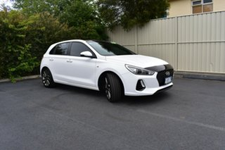 2017 Hyundai i30 GD5 Series II MY17 SR Polar White 6 Speed Sports Automatic Hatchback.