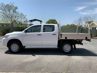 2014 Toyota Hilux KUN26R SR White 5 Speed Automatic Dual Cab