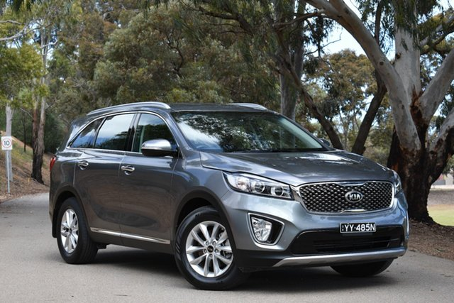 Used Kia Sorento UM MY15 SI, 2015 Kia Sorento UM MY15 SI Grey 6 Speed Sports Automatic Wagon