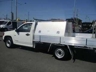2011 Holden Colorado RC MY11 LX 4x2 White 5 Speed Manual Cab Chassis.
