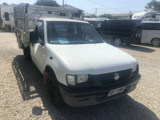 2001 Holden Rodeo Removeable cage DX White 5 Speed Manual Trayback