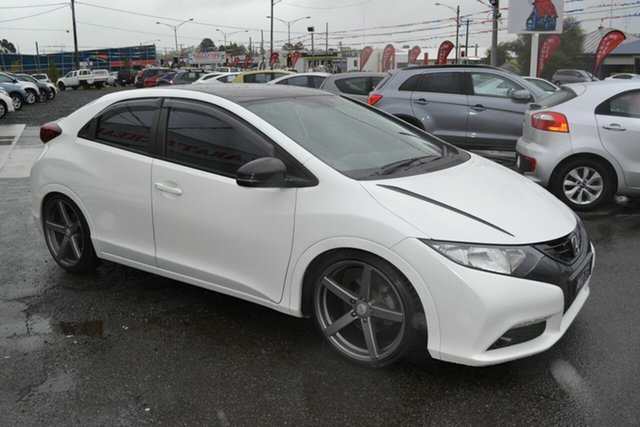 Used Honda Civic FK VTi-L, 2012 Honda Civic FK VTi-L White 5 Speed Automatic Hatchback