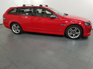 2010 Holden Commodore VE MY10 SV6 Sportwagon Red 6 Speed Sports Automatic Wagon