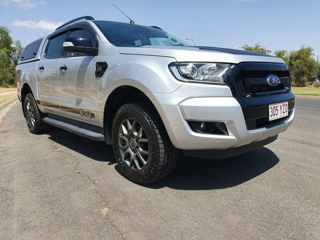 Used Ford Ranger PX MkII XLT Double Cab, 2017 Ford Ranger PX MkII XLT Double Cab Ingot Silver 6 Speed Sports Automatic Utility