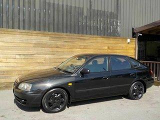 2003 Hyundai Elantra XD MY04 Black 4 Speed Automatic Hatchback