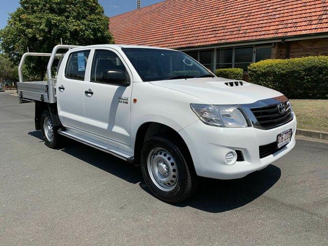 Used Toyota Hilux KUN26R SR, 2014 Toyota Hilux KUN26R SR White 5 Speed Automatic Dual Cab