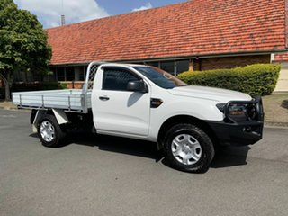 2016 Ford Ranger PXII XL White 6 Speed Automatic Cab Chassis.