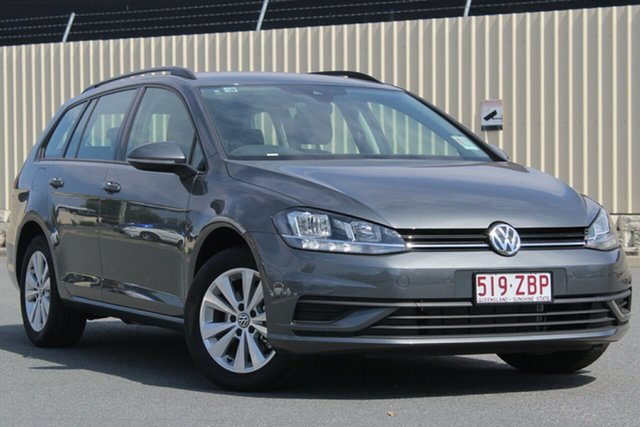 Demo Volkswagen Golf 7.5 MY19 110TSI DSG Trendline, 2018 Volkswagen Golf 7.5 MY19 110TSI DSG Trendline Indium Grey 7 Speed Sports Automatic Dual Clutch