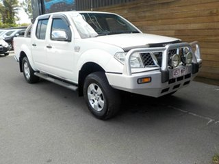 2007 Nissan Navara D40 ST-X White 6 Speed Manual Utility.