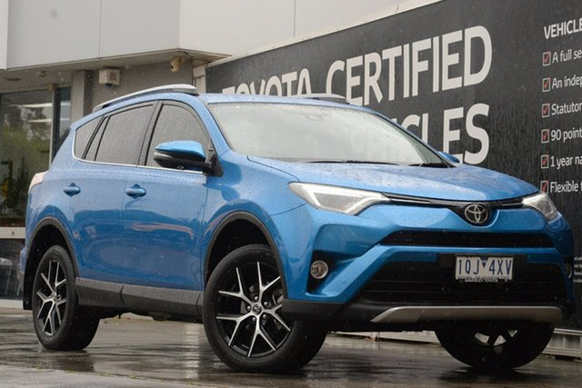 Used Toyota RAV4 ZSA42R GXL 2WD, 2017 Toyota RAV4 ZSA42R GXL 2WD Blue Gem 7 Speed Constant Variable Wagon