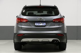 2014 Hyundai Santa Fe DM Highlander CRDi (4x4) Silver 6 Speed Automatic Wagon