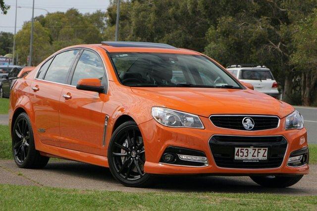 Used Holden Commodore VF MY14 SS V Redline, 2014 Holden Commodore VF MY14 SS V Redline Orange 6 Speed Sports Automatic Sedan