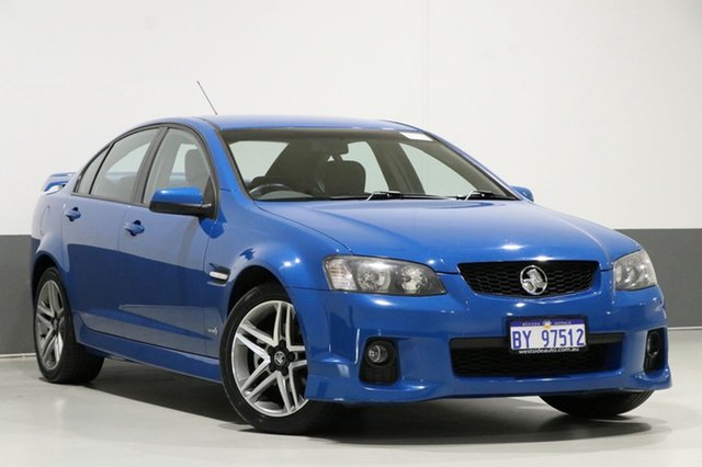 Used Holden Commodore VE MY10 SV6, 2010 Holden Commodore VE MY10 SV6 Blue 6 Speed Automatic Sedan