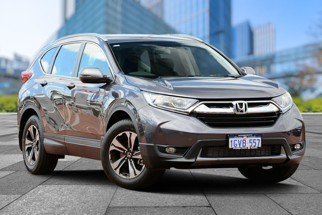 Demo Honda CR-V RW MY19 VTi FWD, 2019 Honda CR-V RW MY19 VTi FWD Modern Steel 1 Speed Constant Variable Wagon