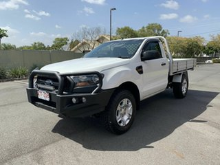 2016 Ford Ranger PXII XL White 6 Speed Automatic Cab Chassis
