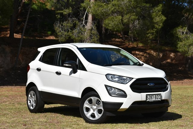 Used Ford Ecosport BL Ambiente, 2018 Ford Ecosport BL Ambiente Diamond White 6 Speed Automatic Wagon