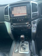 2014 Toyota Landcruiser VDJ200R MY13 Sahara (4x4) Silver Pearl 6 Speed Automatic Wagon