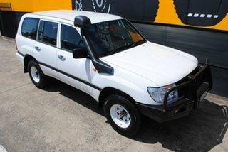 2006 Toyota Landcruiser HZJ105R Standard Super White 5 Speed Manual Wagon