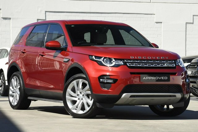 Used Land Rover Discovery Sport L550 15MY SD4 HSE, 2015 Land Rover Discovery Sport L550 15MY SD4 HSE Red 9 Speed Sports Automatic Wagon