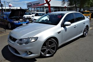 2010 Ford Falcon FG XR6 Turbo 50th Anniversary Silver 6 Speed Sports Automatic Sedan.