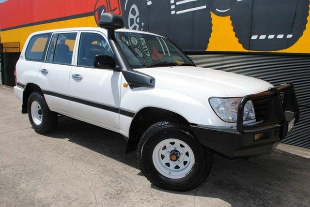 Used Toyota Landcruiser HZJ105R Standard, 2006 Toyota Landcruiser HZJ105R Standard Super White 5 Speed Manual Wagon
