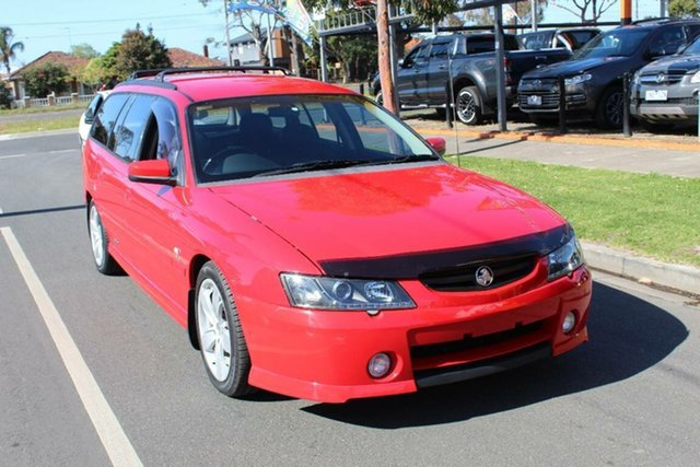 Used Holden Commodore VY SS, 2003 Holden Commodore VY SS Red 4 Speed Automatic Wagon
