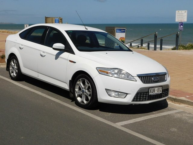 Used Ford Mondeo MA Zetec, 2008 Ford Mondeo MA Zetec White 6 Speed Sports Automatic Sedan