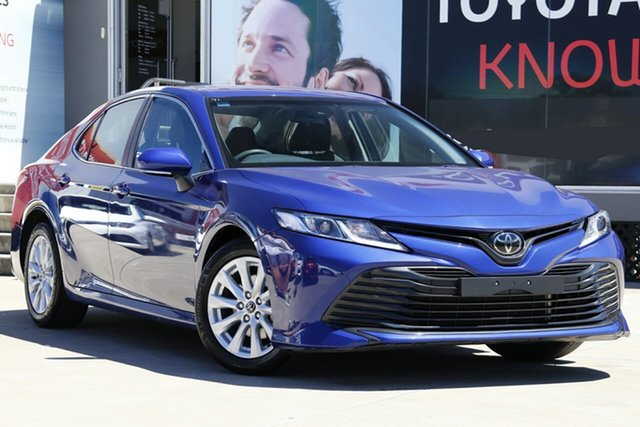 Used Toyota Camry ASV70R Ascent, 2018 Toyota Camry ASV70R Ascent Lunar Blue 6 Speed Sports Automatic Sedan