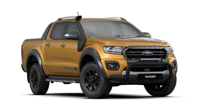 New Ford Ranger PX MkIII 2019.75MY Wildtrak Pick-up Double Cab, 2019 Ford Ranger PX MkIII 2019.75MY Wildtrak Pick-up Double Cab Saber 10 Speed Sports Automatic
