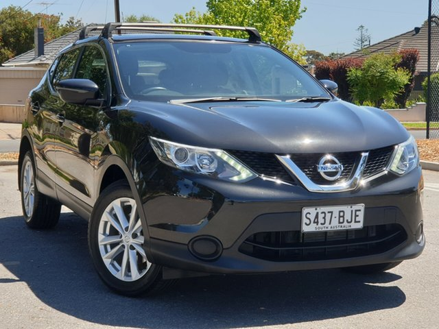 Used Nissan Qashqai J11 ST, 2016 Nissan Qashqai J11 ST Pearl Black 1 Speed Constant Variable Wagon