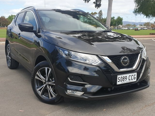 Used Nissan Qashqai J11 Series 2 ST-L X-tronic, 2018 Nissan Qashqai J11 Series 2 ST-L X-tronic Black 1 Speed Constant Variable Wagon