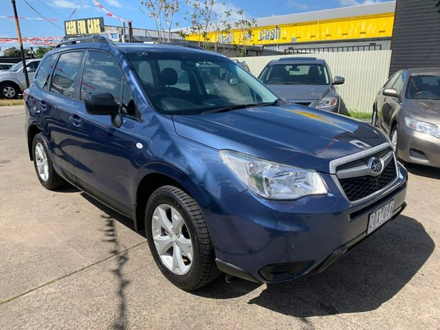 Used Subaru Forester S4 MY13 2.0D-L AWD, 2013 Subaru Forester S4 MY13 2.0D-L AWD Blue 6 Speed Manual Wagon