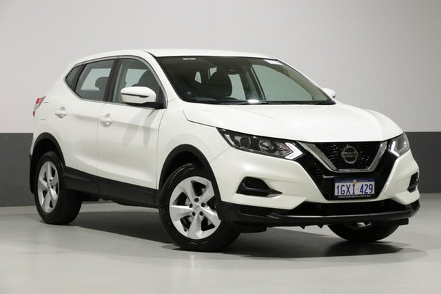 Used Nissan Qashqai J11 MY18 ST, 2018 Nissan Qashqai J11 MY18 ST White Continuous Variable Wagon