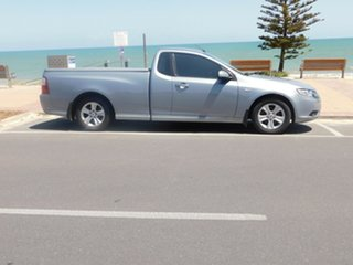 2008 Ford Falcon FG R6 Ute Super Cab Silver 4 Speed Sports Automatic Utility.