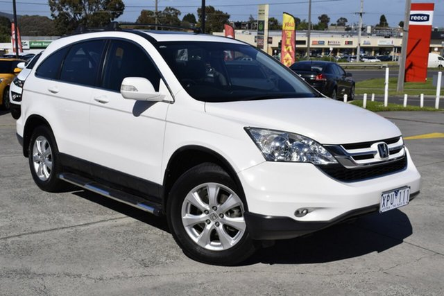 Used Honda CR-V RE MY2010 Sport 4WD, 2010 Honda CR-V RE MY2010 Sport 4WD White 5 Speed Automatic Wagon