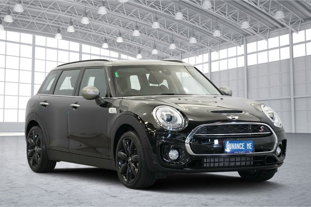 Used Mini Clubman F54 Cooper S Steptronic, 2018 Mini Clubman F54 Cooper S Steptronic Midnight Black 8 Speed Sports Automatic Wagon