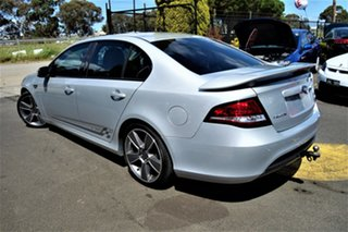 2010 Ford Falcon FG XR6 Turbo 50th Anniversary Silver 6 Speed Sports Automatic Sedan
