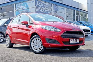 2016 Ford Fiesta WZ Ambiente Red 5 Speed Manual Hatchback.
