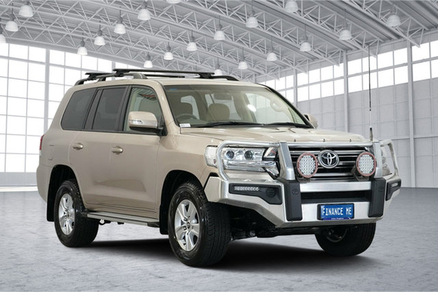 Used Toyota Landcruiser VDJ200R GXL, 2016 Toyota Landcruiser VDJ200R GXL Gold 6 Speed Sports Automatic Wagon