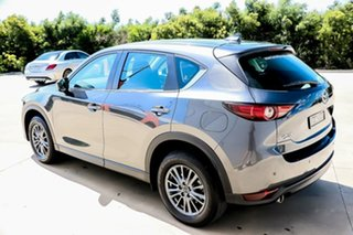 2018 Mazda CX-5 KF4WLA Maxx SKYACTIV-Drive i-ACTIV AWD Sport Machine Grey 6 Speed Sports Automatic.